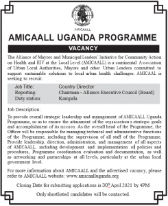 Country Director Advert